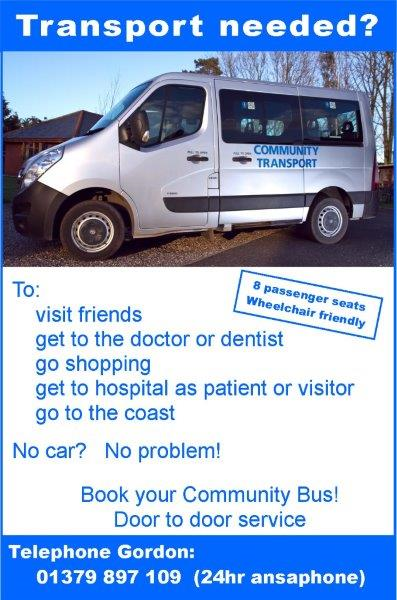 rickinghall community bus